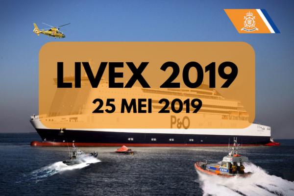 Aankondiging LIVEX 25 mei 2019
