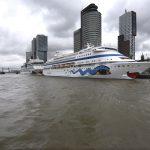 Aida Mar Aida Cara Opening cruiseseizoen (Foto Havenbedrijf Rotterdam)
