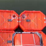 Evacuatiesysteem ferry Pride of Hull