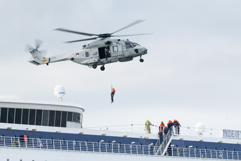 LIVEX 2019 - Defensie NH90 helikopter