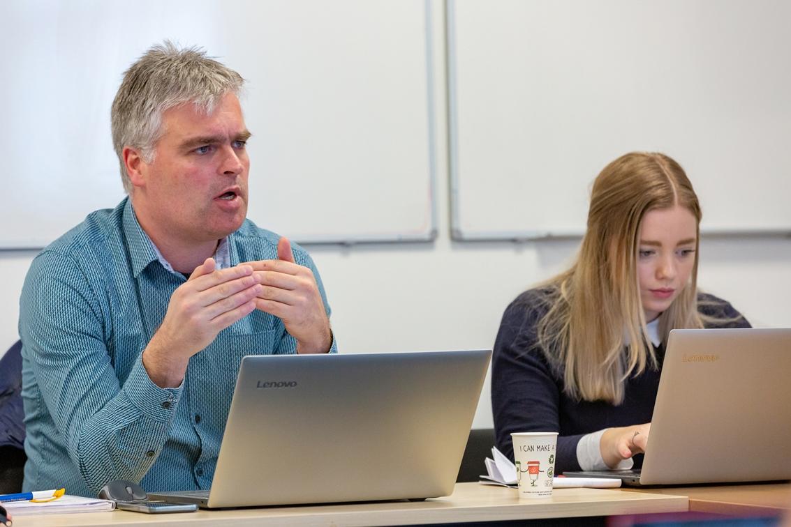Jan Regeling en Marrit Walstra (SAR Training)